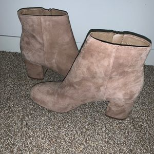 Real Suede Jessica Simpson Boots
